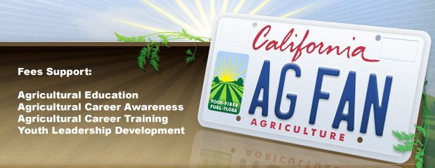 Agriculture License Plate