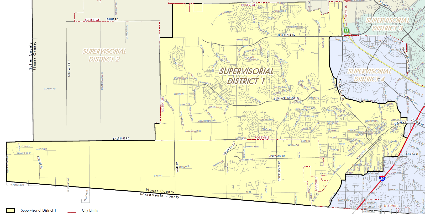 Supervisorial District 1 Map (PDF)