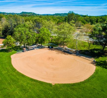 Loomis Basin Community Park-SOUTH-Drone-020_Civic_Plus_Newsflash_435x402