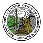 Placer County Agriculture, Weights and Measures Seal