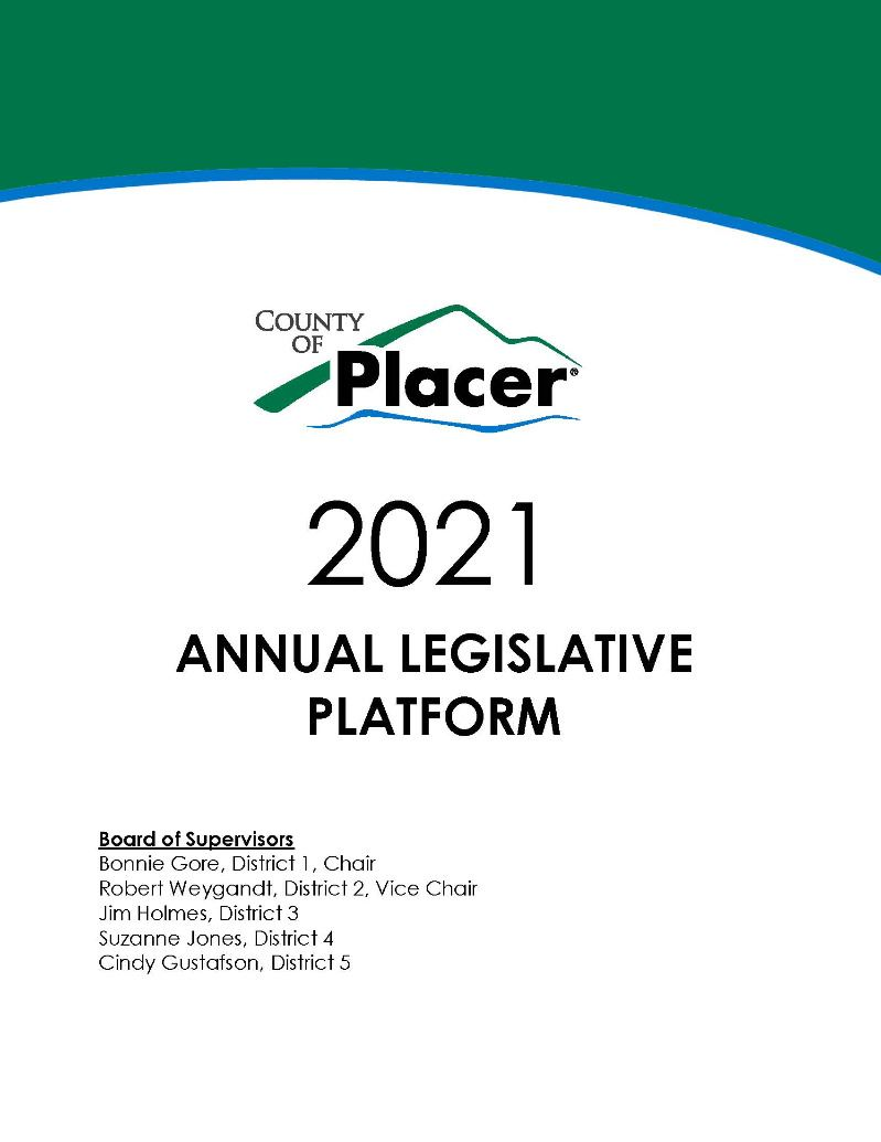 Cover Image 2021 Legislative Platform