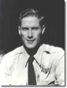 Black and white portrait of Deputy Richard Alfred Sheppard